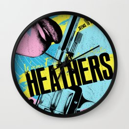 Heathers Wall Clock