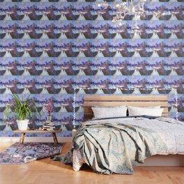 Monet Boulevard Saint Denis Winter Wallpaper