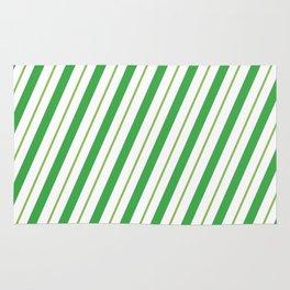 Green Peppermint - Christmas Illustration Rug