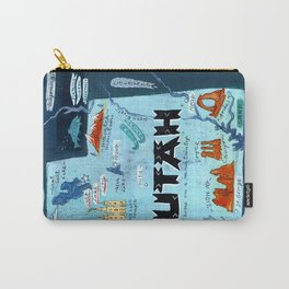 UTAH map Carry-All Pouch
