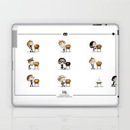 Little Halloween Pumpkin Contest Laptop & iPad Skin