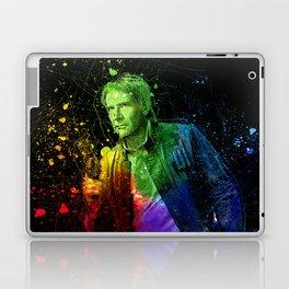 Han Solo StarWars Colorful Splatter Art - Science Fiction Painting Laptop & iPad Skin