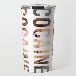LINDSAY LOHAN - COCAINE Travel Mug