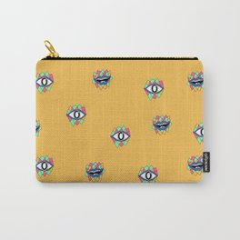 Geometric Humans Carry-All Pouch