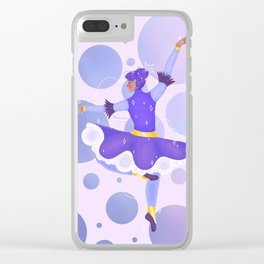 Dancing in the Clouds Clear iPhone Case