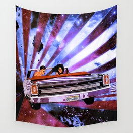 Outatime Wall Tapestry