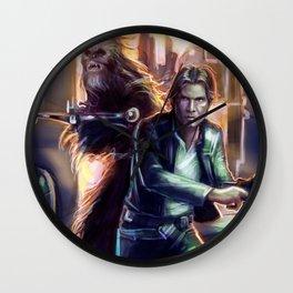 Scoundrels (Color) Wall Clock