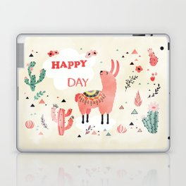 Hapy Lama Laptop & iPad Skin