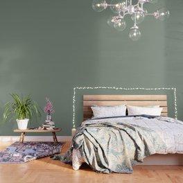 Green Pantone #839182 Wallpaper