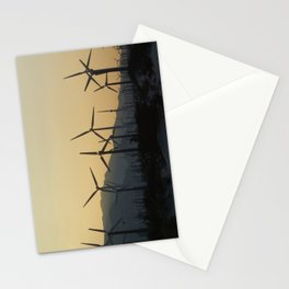 windmills of california Stationery Cards
