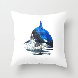 You're Never Nothing Throw Pillow