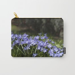 Blue Scilla Carry-All Pouch