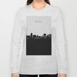 City Skylines: Winnipeg Long Sleeve T-shirt
