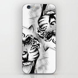 Willing to die? iPhone Skin