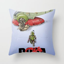BobAkira Throw Pillow
