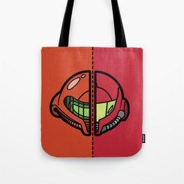Old & New Samus Aran Tote Bag