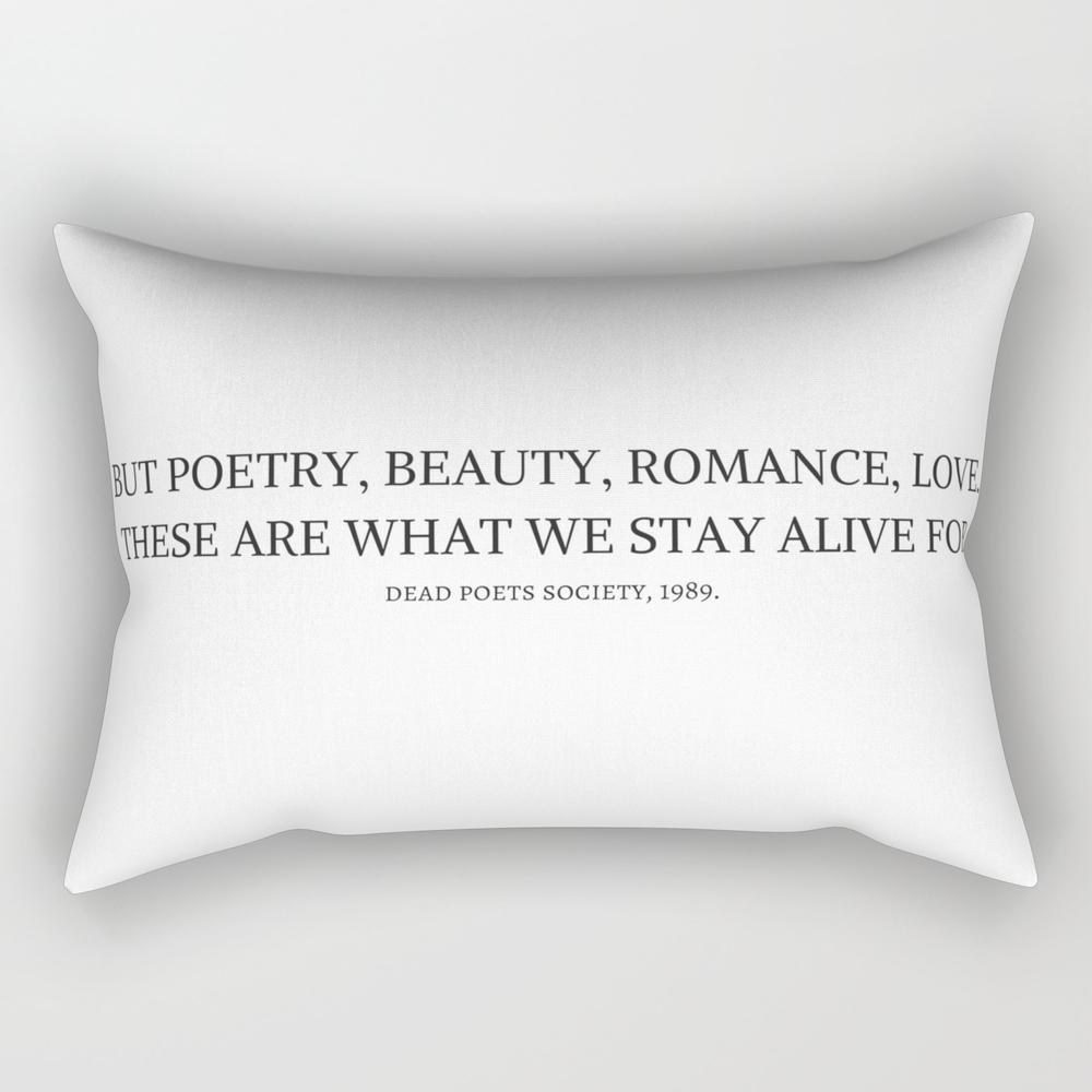Dead Poets Society Rectangular Pillow RPW9002149