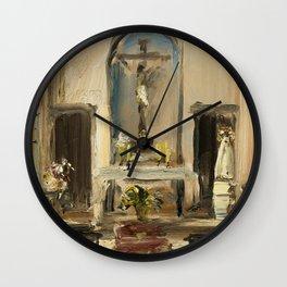 Private Chapel Wall Clock