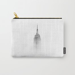 Wistful monochrome Empire State Building Carry-All Pouch