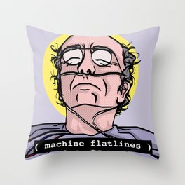 Saint Larry David Throw Pillow