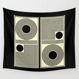 Vintage Indian Tantra Pattern Wall Tapestry