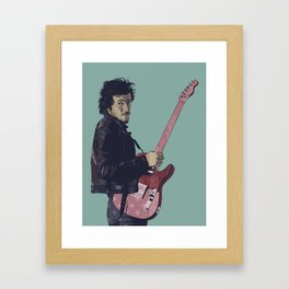The Boss Bruce Framed Art Print