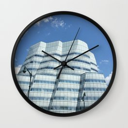 My house in the sky Wall Clock