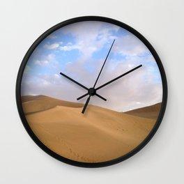 desert photography Wall Clock