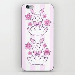 Sakura Bunny 02 iPhone Skin