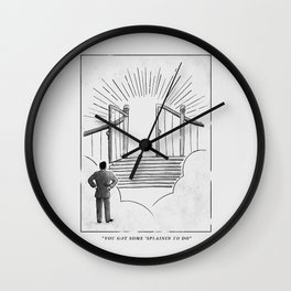 Judgement Day Wall Clock