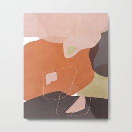 Modern minimal forms 25 Metal Print