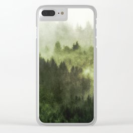 Haven - Nature Photography Clear iPhone Case