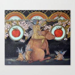Apple Fairy Canvas Print