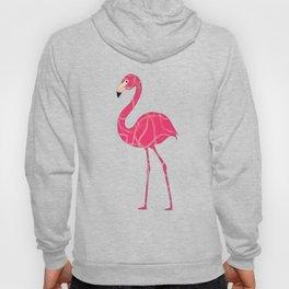 Pretty In Pink Flamingo Hoody