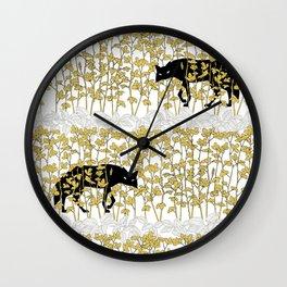 Ulha Lunatico B/Y Wall Clock