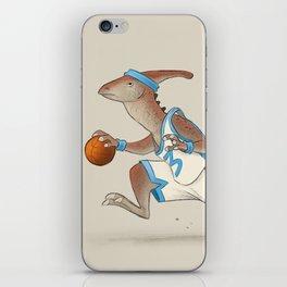 Dinosaur Basketball - Duck Bill iPhone Skin
