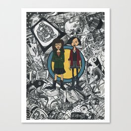 It's a Sick Sad World Daria Canvas Print