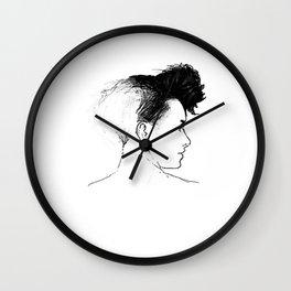 Quiff Wall Clock