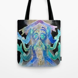 Need A Hand? (in negative) Tote Bag