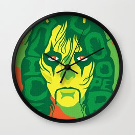 THE ROOTS OF HORROR ROCK :: ALICE COOPER Wall Clock