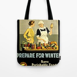 Waste Not Want Not Tote Bag