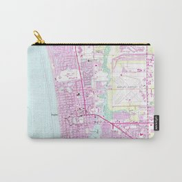 Vintage Map of Naples Florida (1958) Carry-All Pouch