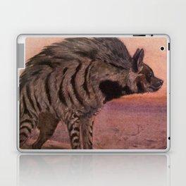 Vintage Hyena Painting (1909) Laptop & iPad Skin