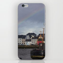 Galway Rainbow iPhone Skin