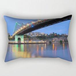 Christmas Bridge Rectangular Pillow