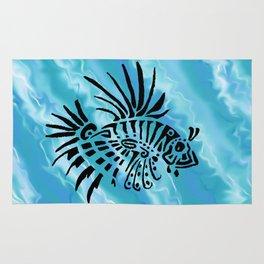 lion fish 1 Rug