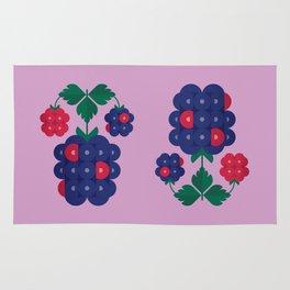Fruit: Blackberry Rug