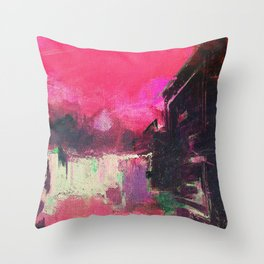 Rio's Hills Throw Pillow