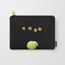 Eat Chickpeas Not Chicks (Realistic) Carry-All Pouch