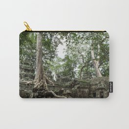 Ta Phrom, Angkor Archaeological Park, Siem Reap, Cambodia Carry-All Pouch
